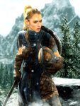 Stormcloak Female Soldier by LordHayabusa357