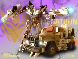DOTM Megatron by Burnoutadventures