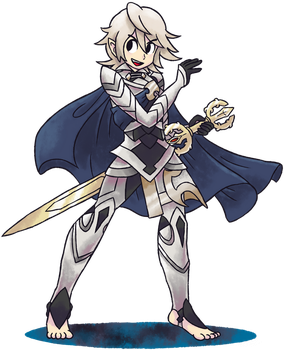 ''Mario+Luigi'' RPG Style: Corrin [Male] by Master-Rainbow