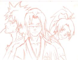 Samurai Champloo Sketch by Wosuko-San