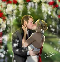 Dawn and Ryan's Wedding by creepingninja