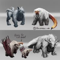 Beast concept by TheMaestroNoob