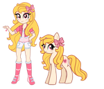Equestria Girls Sweet Style by Salacberry