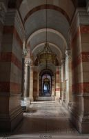 Marseille Cathedral Interior by YunaHeileen