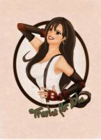 Tifa thanks for 10k Pageviews by Kiarara
