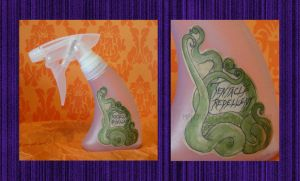 Tentacle Repellant Spray by AmberStoneArt