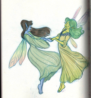 Faery dance by sparrowbirdd