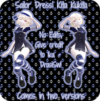 [MMD x YAN SIM] Sailor Dress! Kita Kukita [DL] by InvaderIka