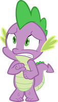 Spike Scared by Spyro4287