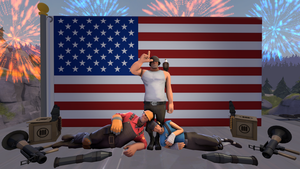 SUPER SFM POSTER OF AMERICAN PATRIOTISM by Blackmoonrose13