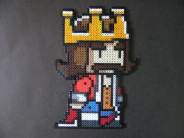 Perler Scribblenauts King by EP-380