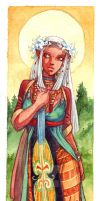 Weena - bookmark commission by Alice-Bobbaji