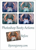 Photoshop Booty Actions by ibjennyjenny