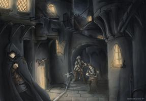 A thief in the night by QuintusCassius