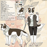 Holly reference sheet by OceanSpice