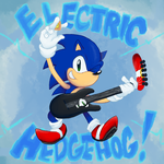 ELECTRIC HEDGEHOG by EvilSonic2