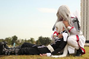 Legato and Ku-chan Saint Form: The end of brothers by newti
