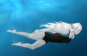 Christone Swimming by CyclesofShadows