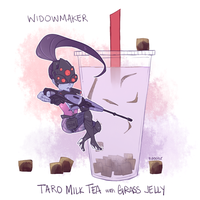 Overwatch - BOBAWATCH: Widowmaker by Pidoodle