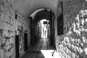 Alley in the old town by ShlomitMessica