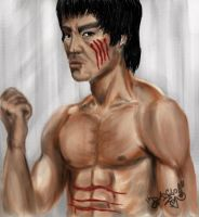 "Bruce Lee ""ENTER THE DRAGON"" by DanloS"