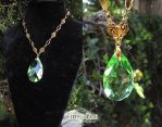 Ivy Droplet Necklace by Lillyxandra