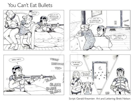 You Can't Eat Bullets by Klaypersonne