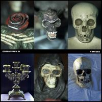 Gothic Pack 01 by nighty-stock