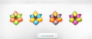 Flower Icons by basstar