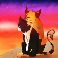 painted.sunset:. PC by catbae