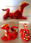 Little Red Dragon by Anniasha