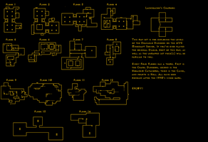 Map for the Deacablo Labyrinth by dracorotor