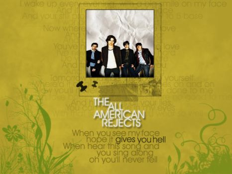 The Alll American Rejects by radiodaydream
