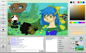 iScribble with Ed by Frenchielover4ever