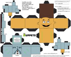 Muppets37: Walter Cubee by TheFlyingDachshund