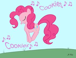 Pinkie Pie loves Cookies by MadisonHRW