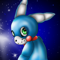 Toy Bonnie chibi by MikaCapde