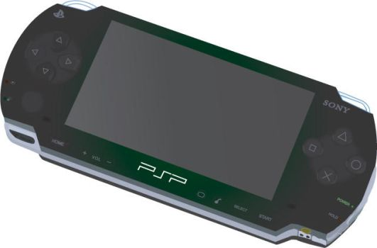 Simulated 3D PSP render by thehippie7