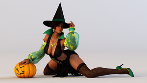 Lisa 3DS Render 10 by x2gon