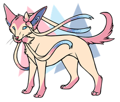 ...pogheys...Sylveon by Rainbow-Cemetery
