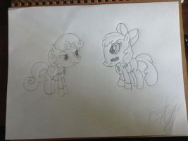 Smart Cookie Fillies by TheBlackmanBrony