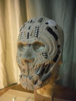 organic cyborg mask by UglyBabyEater