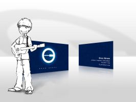 Oren Business Card by IceBoxStudios