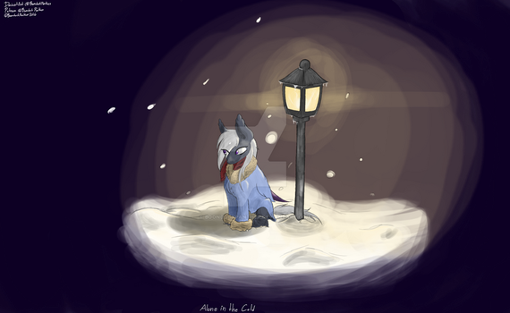Alone in the Cold by BoondockPanther