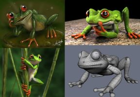frog - design and 3d by fernandofaria