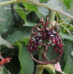 The Grape Vine Tree of Life by SerenityWireDesigns