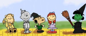 It's the Wizard, Charlie Brown by Roxas626