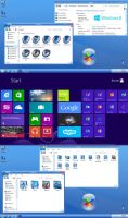 First preview of Windows 8. by Fiazi