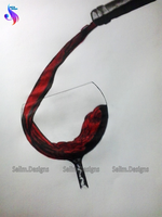 Cup Of WINE by SelimDesigns