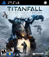 Titanfall PS4 cover by RimComics
